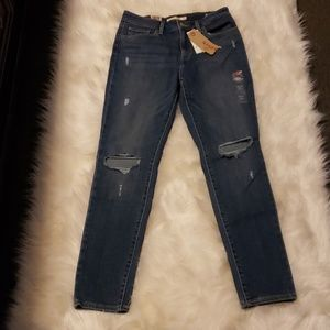 721 levi high rise skinny jeans